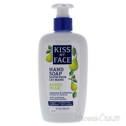 Hand Soap - Anjou Pear by Kiss My Face for Unisex - 9 oz Soa