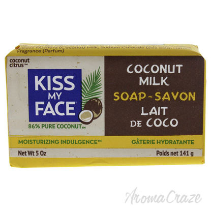 Pure Coconut Milk Bar Soap by Kiss My Face for Unisex - 5 oz