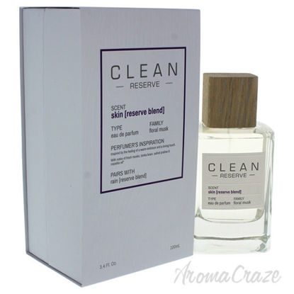 Reserve Skin by Clean for Unisex - 3.4 oz EDP Spray