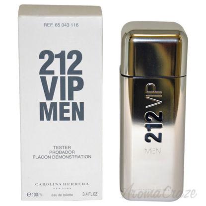 212 VIP by Carolina Herrera for Men - 3.4 oz EDT Spray (Test