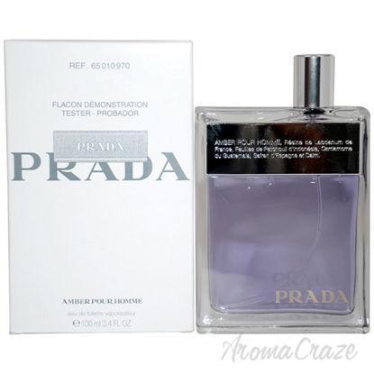 Prada Amber Pour Homme by Prada for Men - 3.4 oz EDT Spray (