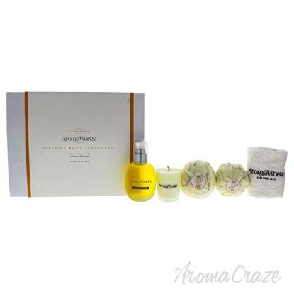 Serenity Body Indulgence Set by Aromaworks for Unisex - 5 Pc