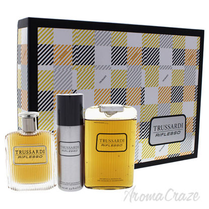 Trussardi Riflesso by Trussardi for Men - 3 Pc Gift Set 3.4o