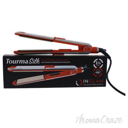 Tourma Silk Flat Iron - HS045B Orange by Inglam for Unisex -