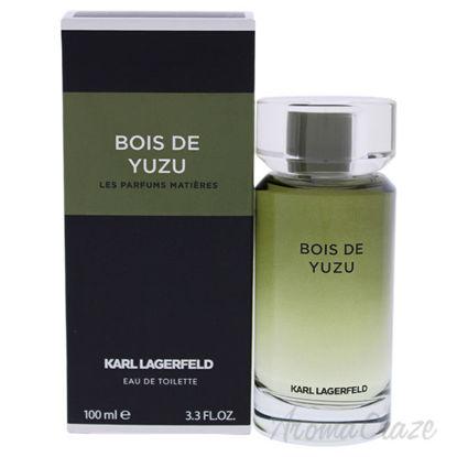 Bois De Yuzu by Karl LagerFeld for Men - 3.3 oz EDT Spray