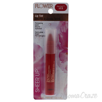 Sheer Up Lip Tint - LC2 Dewy Rose by Flower for Women - 1 oz
