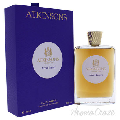 Amber Empire by Atkinsons for Women - 3.3 oz EDT Spray