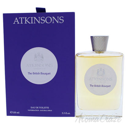 The British Bouquet by Atkinsons for Men - 3.3 oz EDT Spray