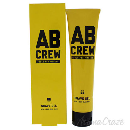 Ab Crew Shave Gel by Ab Crew for Men - 4 oz Shave Gel