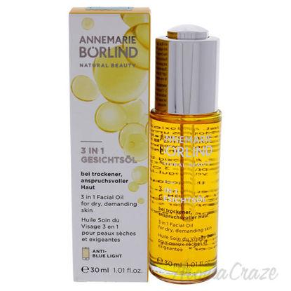3-In-1 Facial Oil by Annemarie Borlind for Unisex - 1.01 oz