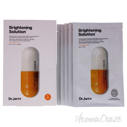 Brightening Solution Sheet Facial Mask by Dr. Jart+ for Unis