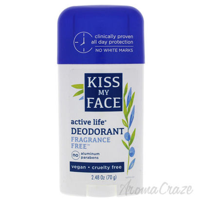 Active Life Fragrance-Free Deodorant Stick by Kiss My Face f