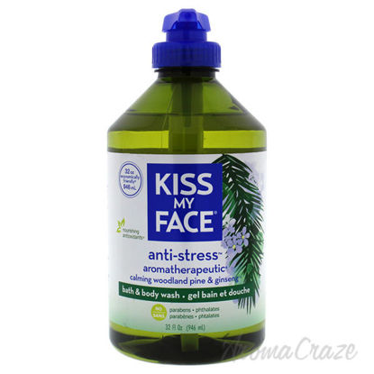 Anti-Stress Body Wash - Woodland Pine and Ginseng by Kiss My