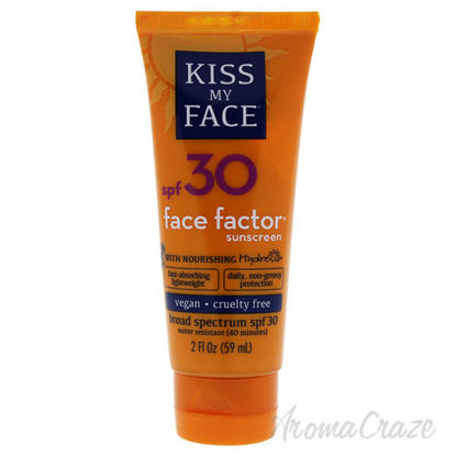 Face Factor Sunscreen SPF 30 by Kiss My Face for Unisex - 2