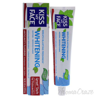 Whitening Anticavity Fluoride Toothpaste - Cool Mint Gel by