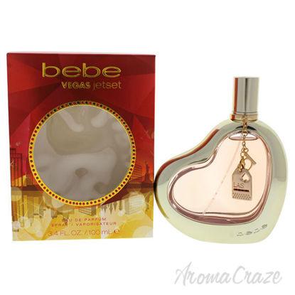 Vegas Jetset by Bebe for Women - 3.4 oz EDP Spray