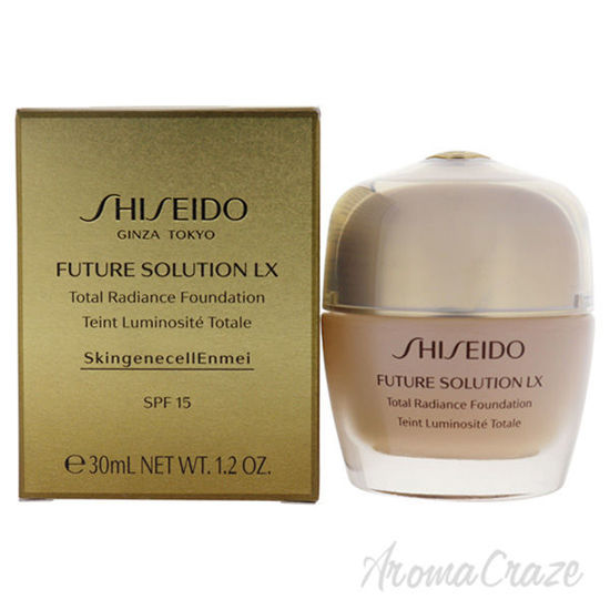 Picture of Future Solution LX Total Radiance Foundation SPF 15 - 4 Golden by Shiseido for Women - 1.2 oz Foundati