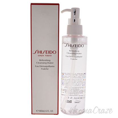 Refreshing Cleansing Water by Shiseido for Women - 6 oz Clea