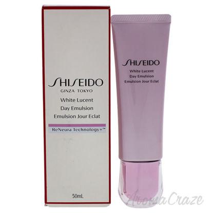 White Lucent Day Emulsion by Shiseido for Unisex - 1.7 oz Em