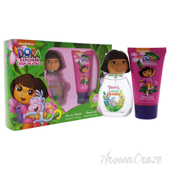 Dora and Boots by Marmol and Son for Kids - 2 Pc Gift Set 1.