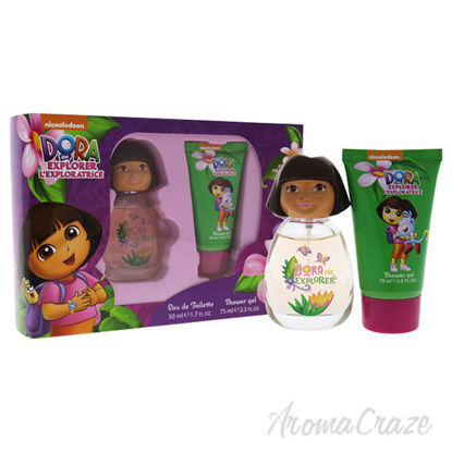 Dora the Explorer by Marmol and Son for Kids - 2 Pc Gift Set