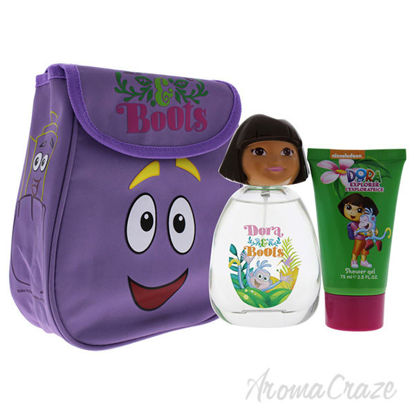 Dora and Boots by Marmol and Son for Kids - 4 Pc Gift Set 3.