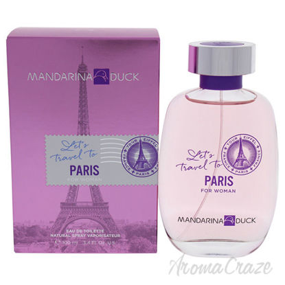 Lets Travel To Paris by Mandarina Duck for Women - 3.4 oz ED