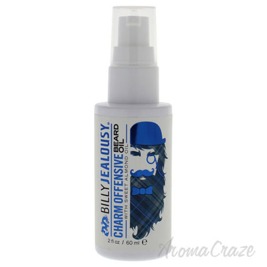 Charm Offensive Beard Oil by Billy Jealousy for Men - 2 oz O