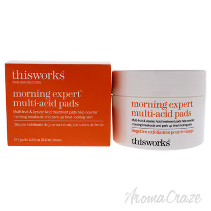 Morning Expert Multi Acid Pads by ThisWorks for Unisex - 60