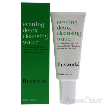 Evening Detox Cleansing Water by ThisWorks for Unisex - 6.8