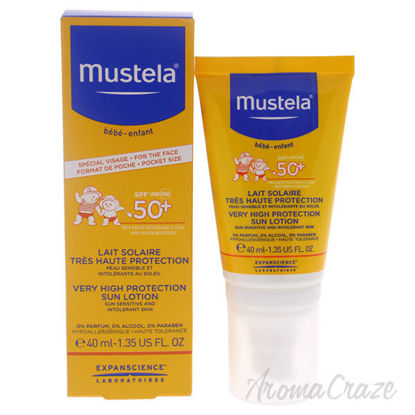 Very High Protection Sun Lotion - SPF 50 by Mustela for Kids