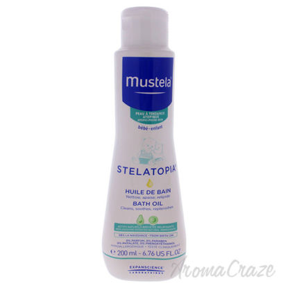 Stelatopia Bath Oil by Mustela for Kids - 6.76 oz Shampoo