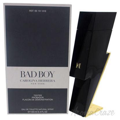 Bad Boy by Carolina Herrera for Men - 3.4 oz EDT Spray (Test