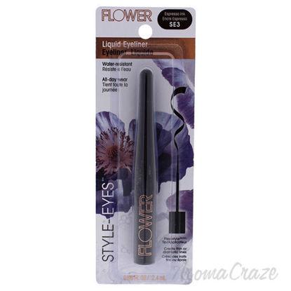 Style-Eyes Liquid Eyeliner - SE3 Espresso Ink by Flower for