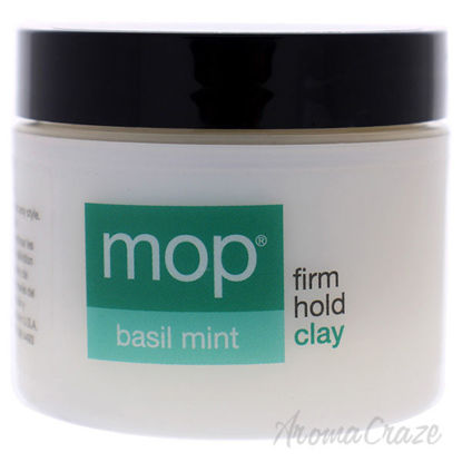 Basil Mint Firm Hold Clay by MOP for Unisex - 2 oz Clay