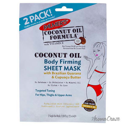 Coconut Oil Body Firming Sheet Mask by Palmers for Women - 0