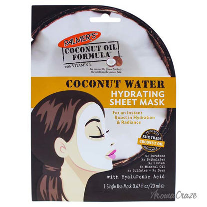 Coconut Water Hydrating Sheet Mask by Palmers for Women - 0.
