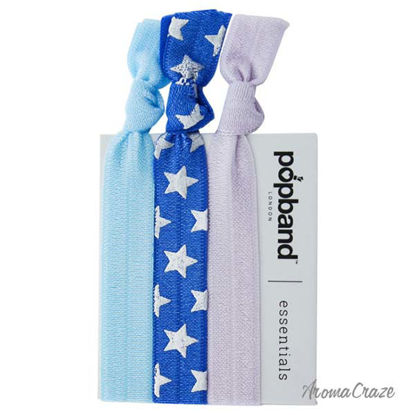 Essential Hair Bands - Cheerleader Blue by Popband for Women