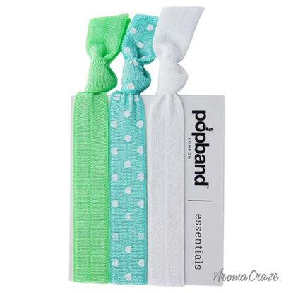 Essential Hair Bands - Mint Green by Popband for Women - 3 P