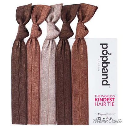 Hair Tie - Cococa by Popband for Women - 5 Pc Hair Bands