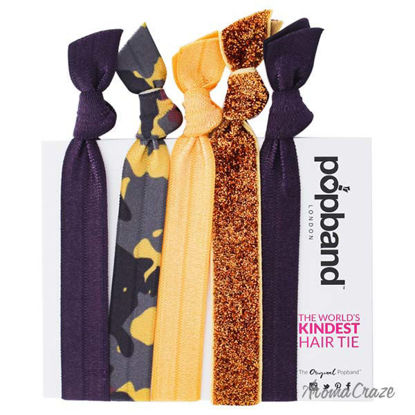 Hair Tie - Glamping by Popband for Women - 5 Pc Hair Bands