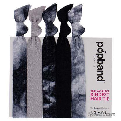 Hair Tie - Tye Dye by Popband for Women - 5 Pc Hair Bands