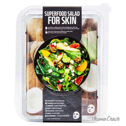 Superfood Salad Facial Sheet Mask For Skin - Coconut by Fa