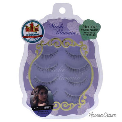 False Eyelashes - 02 Pure Nude by Miche Bloomin for Women -