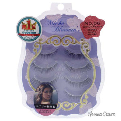 False Eyelashes - 06 Girl Flair by Miche Bloomin for Women -