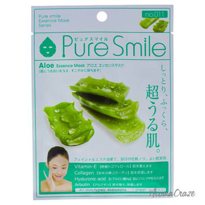 Essence Mask - Aloe by Pure Smile for Women - 0.8 oz Mask