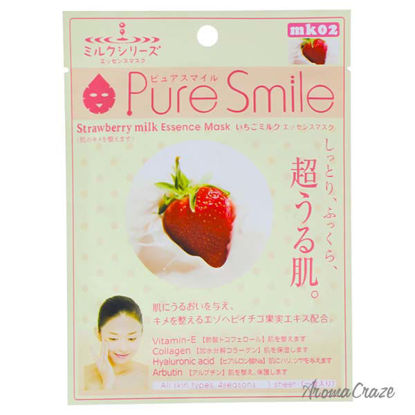 Essence Mask - Strawberry Milk by Pure Smile for Women - 0.8