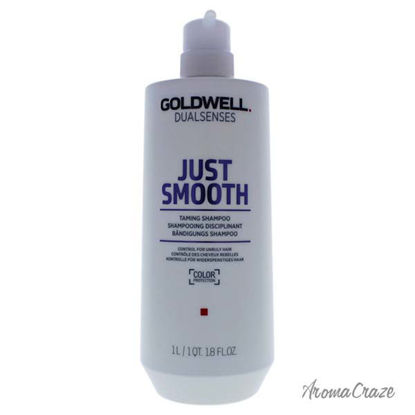 DualSenses Just Smooth Taming Shampoo by Goldwell for Unisex