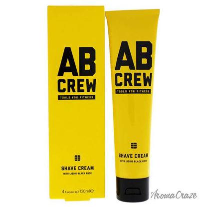 Ab Crew Shave Cream by Ab Crew for Men - 4 oz Shave Cream