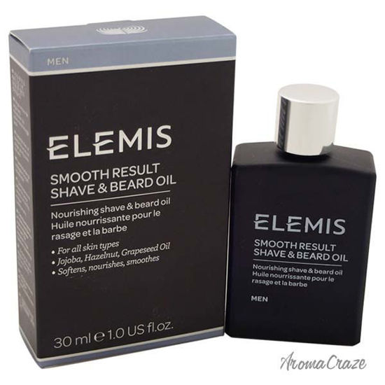 Smooth Result Shave & Beard Oil by Elemis for Men - 1 oz Sha